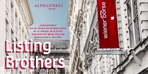 """ALPHAZIRKEL AUSTRIA: """"Listing Brothers"""" - The example of an Ukrainian enterprise getting listed at the Vienna stock exchange. @ Säulenhalle der Wiener Börse AG"""