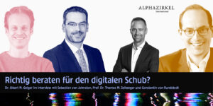 """""""What kind of advisory and managemant board is needed for the digital boost?"""" An expert discussion."""